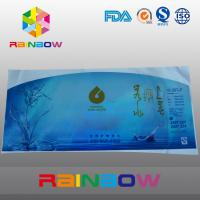 PVC Heat Shrink Sleeve Labels For Water Bottle Packaging Customized Printed for sale