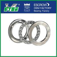 Wholesale Low Noise Thrust Ball Bearing , High Speed Spherical Thrust Bearing  from china suppliers