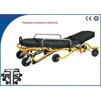 China Auto Loading Ambulance Stretcher Stainless Steel Foldable for Emergency Rescue on sale