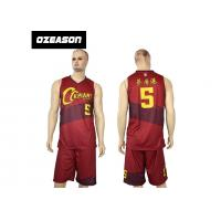 Wholesale Hotsale Sublimated Custom Quick Dry Basketball Jersey Wear For Sale from china suppliers