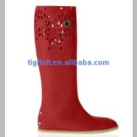 Wholesale felt snow boot liners for men/ various sizes from china suppliers