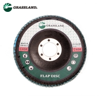 Wholesale 115X22mm Aluminium Oxide 60 Grit Angle Grinder Flap Disc from china suppliers