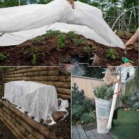 Buy cheap White Color Anti - UV Non Woven Landscape Fabric Roll for Protecting Plants from wholesalers