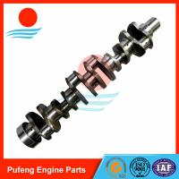 Wholesale replacement for Hyundai excavator, M11 forged crankshaft 3073707 for excavator R485LC-9 from china suppliers