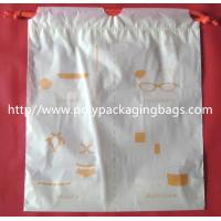 Wholesale Small Packaging Poly Bags , Drawstring Pouch Bags 2 Colors Gravure Printing from china suppliers