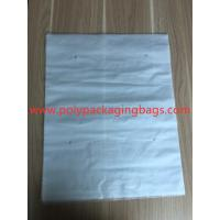 China 3 Sides Sealed Packaging Poly Bags Environmental Protection White Transparent for sale