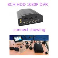 Best 4G GPS WIFI AHD Hybrid HDD Mobile DVR 8CH 1080P 720P For truck school bus lorry taxi wholesale