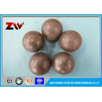 Wholesale SGS verified Forged SAG mill grinding balls for power station and mining from china suppliers