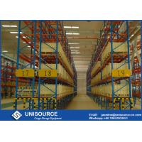 Quality Stable Heavy Duty Steel Shelving , Direct Access High Density Racking For Garage for sale