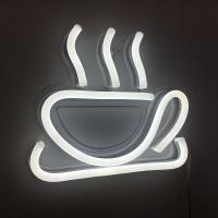 Buy cheap Coffee Sign LED Neon Signs PVC Acrylic Material RF Remote Control For Wall Decor from wholesalers