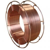 Solid Welding Wire ER70S-6, CO2 Gas-shielded solid welding wire ,low carbon steel welding wire 15kg metal basket packing