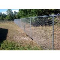 Wholesale Height 1.5m 1.8m 2.0m 2.4m Chain Link Fence With Black And Green Colors from china suppliers