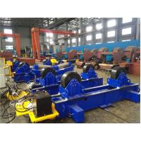 Movable 60T Pipe Welding Rotator Stepless Speed for Circular Pipe Welding