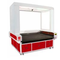 China Camera Positioning Leather Laser Engraving Machine CNC Co2 180w For Shoe Upper on sale