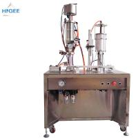 Wholesale 35 - 65 Mm Bottle Height Bottled Water Filling And Capping Machine Inhaler Aerosol Filling Machine from china suppliers