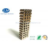 Wholesale Pull Force About 600g Neodymium Cylinder Magnets Standard N35 Magnets Power from china suppliers