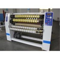 Automatic BOPP Adhesive Tape Slitting Machine For Fabric / Thermal Paper