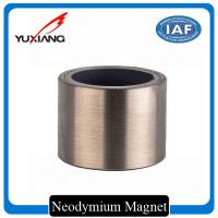 Bonded Neodymium Rare Earth Magnets , Custom Size Magnets 0.35mm Wall Thickness for sale