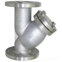 Wholesale PN16 Raised Face Flange End Industrial Water Strainers Cast Steel Body With 40 Microns SS304 Filter Element from china suppliers
