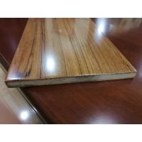 Buy cheap Fast Installation Rectangle Fiberboard Flooring With Glabrous And Smooth Surface from wholesalers