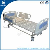 Wholesale ABS Side Rails ICU Electric Hospital Beds Two Functions Hospital ICU Room Use from china suppliers