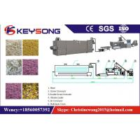 Wholesale Twin Screw Artificial Rice Production Line , Golden Rice Production Machine from china suppliers