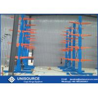 Wholesale Q235 Steel Cantilever Lumber Storage Racks For Sheet Metal / Lumber / Piping from china suppliers