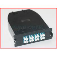 China MTP Patch Panel 12 Fibers Single Mode LC Duplex 40G/100G to 10G/25G on sale