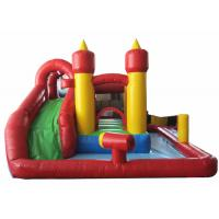 China Cheap inflatable mini combo with pool inflatable simple combo pool game for kids under 6 years for sale
