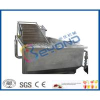 Wholesale Air Bubble Industrial Fruit Washer Vegetable Washing Machine Low Energy Consumption from china suppliers