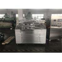 Wholesale 5000L Two Stage Homogenizer , Four Plunger High Pressure Homogeniser For Milk from china suppliers