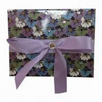 Paper Gift Box with Ribbon, Customized Specifications are Accepted for sale