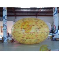 Wholesale Gaint Inflatable Melon Fruit Shaped Balloons UV Printing 4m Long from china suppliers