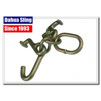 Wholesale Tow Strap Accessories Steel Ratchet Strap Hooks , Vehicle Tie Down Hooks from china suppliers