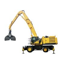 China Construction Site Crawler Material Handler 35 Ton 109kN Max Traction Force Customized Color on sale