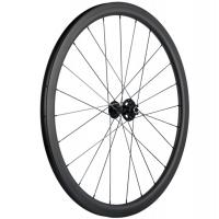 Wholesale 38mm 28 / 28H Road Bike Disk Brake Wheels , Tubular Clincher Mountain Bike Disc Wheelset from china suppliers