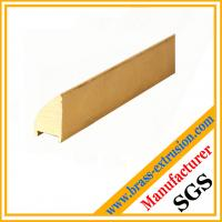 Wholesale copper sanitary solid Brass bathroom parts extrusion profiles sections from china suppliers