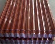 China High Strength Prepainted / Galvanized corrugated metal roofing sheet on sale