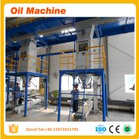 Wholesale High quality sunflower oil refinery plant edible oil refining line from china suppliers