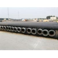 Wholesale HDPE dredging pipe and dredging plastic pipe with MDPE float buoy or plastic pontoon from china suppliers