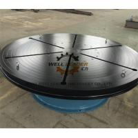 China Heavy Duty Welding Turn Table Infinitely Variable Rotation Speeds For Automatic Welding on sale