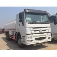 China SINOTRUK HOWO Oil Tank Trailer 10 Wheeler 20m3 With 371 HP Engine BV Certificated on sale