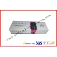 Wholesale Magnetic gift boxes for hair extension , 1500g Hard board box with logo embossed and foiled from china suppliers