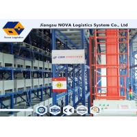 Wholesale ISO Automated Pallet Racking Systems ASRS , High Density Heavy Duty Cantilever Racking  from china suppliers