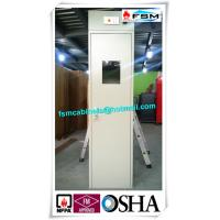 Best Steel Safety Storage Cabinets With Fixed Belt For Storing Gas Cylinder / Oil Drum wholesale