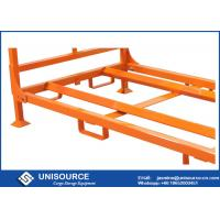 Wholesale Foldable Stack Truck Tire Rack , Portable Steel Storage Racks For Tire from china suppliers