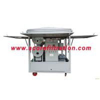 China Mobile Trailer Vacuum Transformer Oil Purification Dehydration Machine for sale