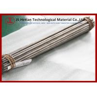 Best CO 10% 310 mm Tungsten Carbide Rod with 0.6 Micron TC Phase , 14.37 g / cm3 Density wholesale