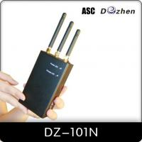 Wholesale 3G / GPS Portable Cell Phone Jammer ( DZ-101N-3G ) from china suppliers