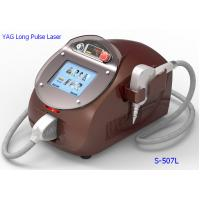 China Home 1064nm / 532nm Yag Laser Hair Removal Machine for Dark Skin for sale